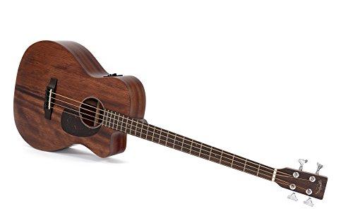 Akustik Bass Sigma BMC-15E mit Fishman Isys Tonabnehmer und integriertem Stimmgerät