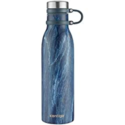 Contigo Couture THERMALOCK 20oz Insulated Stainless Steel Bottle, Blue Slate