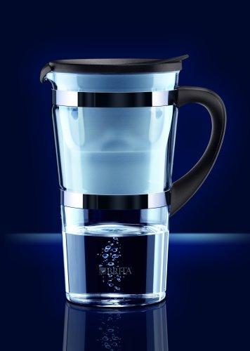 Glas-Wasserfilter \'Edition Graphite\' von Brita inkl. 1 Maxtra Filterkartusche