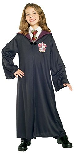 Enfants-Garon-FILLES-DE-LUXE-Harry-Potter-Hermione-Grainger-Griffindor-Gryffondor-Robe-magicien-livre-jour-Halloween-dguisement-costume-tenue
