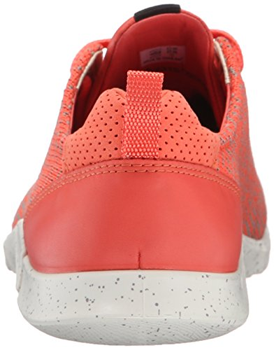 Ecco Ecco Intrinsic Karma, Sneakers basses femme Rouge - Rot (CORAL BLUSH/CORAL B-MOON R/CORAL B59793)