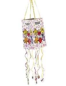 DYNASTRIB Monsieur Madame 1 piñata flexible 9004340 multicolor, 30 x 18 cm