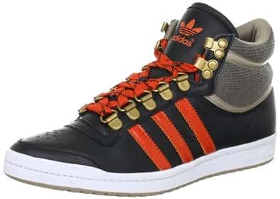 adidas Originals  TOP TEN HI SLEEK W, Sneakers Basses femme - Noir - Schwarz (BLACK1/CRAOR), 42 2/3 EU