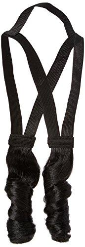 Kinder Kostüm Rabbi - Dress Up America 383-BL Jüdisches frommes Seitenschloss-Kostüm-Zusatz, schwarz, One Size Fits All (Kids and Adult)