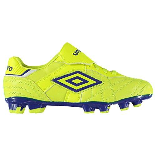 Umbro Hombre Speciali Eternal Premier HG Botas de fútbol Amarillo Azul 41 94620fe28e9ed