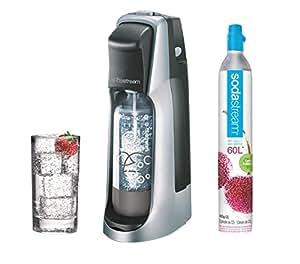sodastream jet titan grise machine eau p tillante et soda cuisine maison. Black Bedroom Furniture Sets. Home Design Ideas