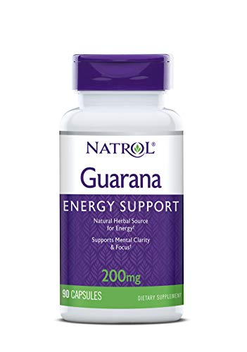 Natrol Guarana 200 mg (90) Standard, 45 g