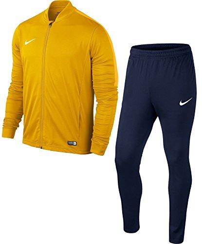 Nike Academy16 Yth Knt Tracksuit 2, Chandal Infantil, Multicolor (Dorado/Negro/Blanco), S