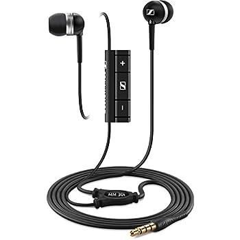 Sennheiser MM 30 i Ecouteurs Intra-auriculaires avec Télécommande et Micro (Apple)
