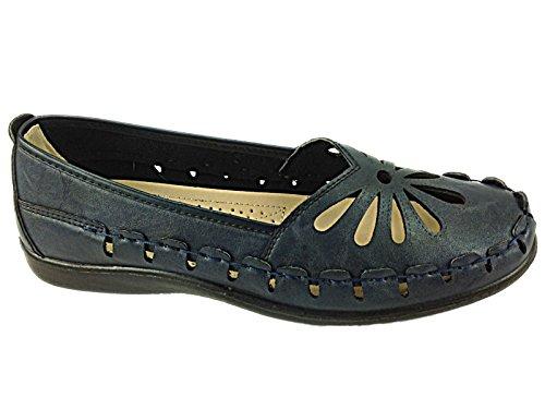 Foster Footwear, Mocassini donna Navy