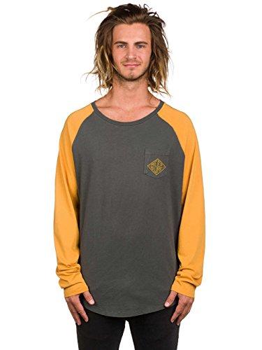 Herren Langarmshirt Reef Diamond T-Shirt Charcoal