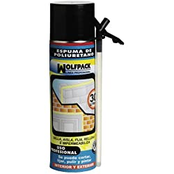 Wolfpack 14010154 - Espuma poliuretano con cánula, 500 ml