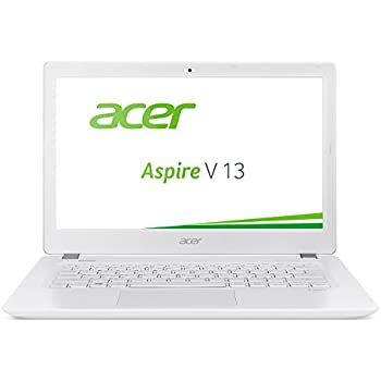 Acer Aspire V 13 (V3-372-518V) 33,8 cm (13,3 Zoll Full HD IPS) Laptop (Intel Core i5-6267U, 8GB, 256GB SSD, Intel Iris Graphics 550, Win 10 Home) weiß