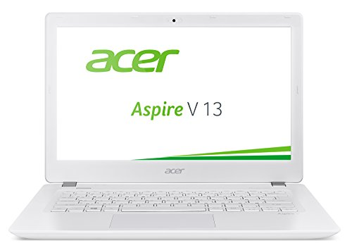 Acer Aspire V 13 (V3-372-518V) 33,8 cm (13,3 Zoll Full HD IPS) Notebook (Intel Core i5-6267U, 8GB, 256GB SSD, Intel Iris Graphics 550, Win 10 Home) weiß