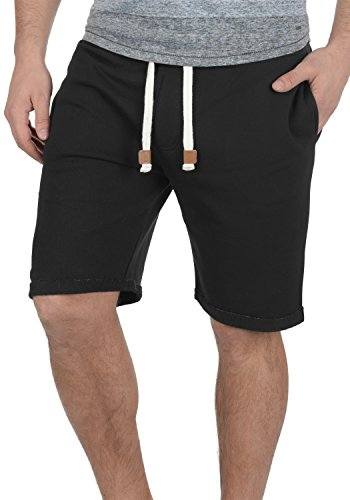 INDICODE Rion Shorts, Größe:M;Farbe:Black (999) (Shorts Sweat Fleece)