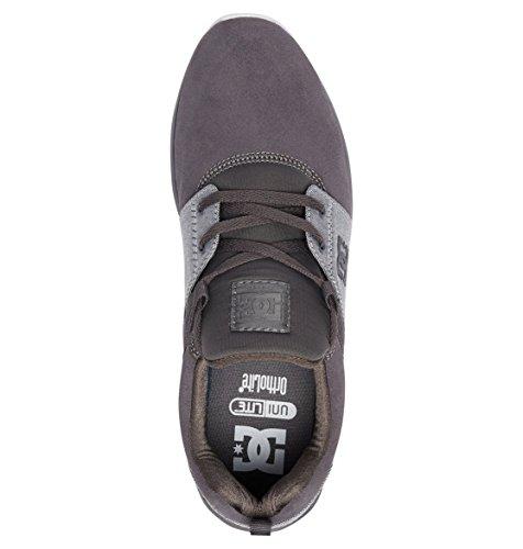 DC Shoes Heathrow Se, Baskets Homme Gris