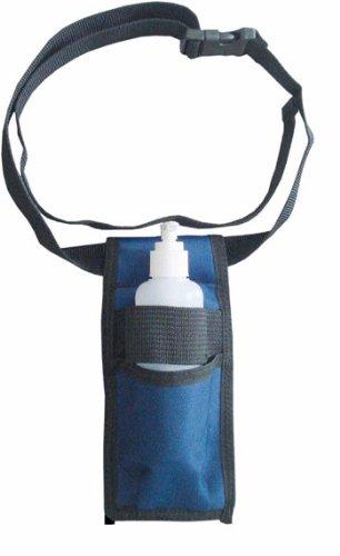 Fondina per flaconcino e bottiglia riutilizzabile: Per Oli per massaggio e lozioni [nera]