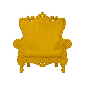 Design of Love Little Queen of Love Baby Armchair Saffron Yellow