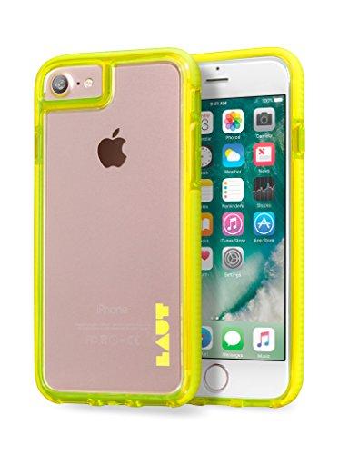 LAUT FLURO [IMPKT] für Apple iPhone (für iPhone 6 / 6S, Black) Yellow