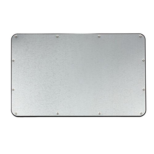Ularma Ultra Slim Aluminum Wireless Bluetooth Tastatur Keyboard für IOS Android Windows PC (Schwarz) - 5