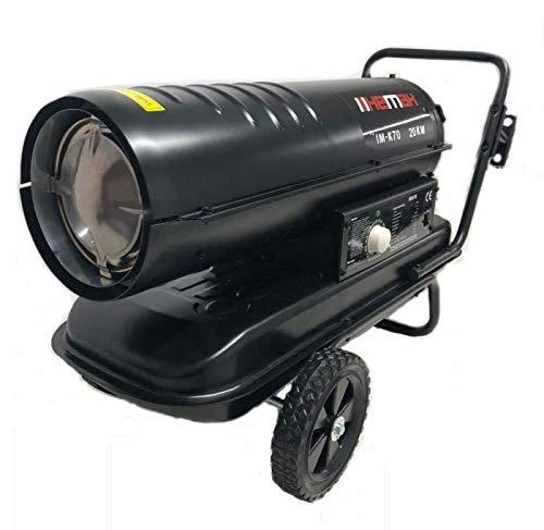 Cañón de calefacción 20kw Diesel Calentador Cañón Ventilador Calefacción diseño calefactor Aire...