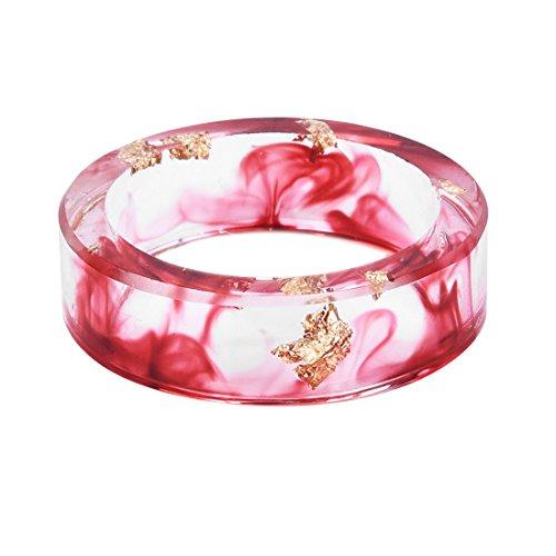 Produktbild Ziemlich Mikrolandschaft Harz Ringe Handwerk Finger Ring Für Freunde Größe 10
