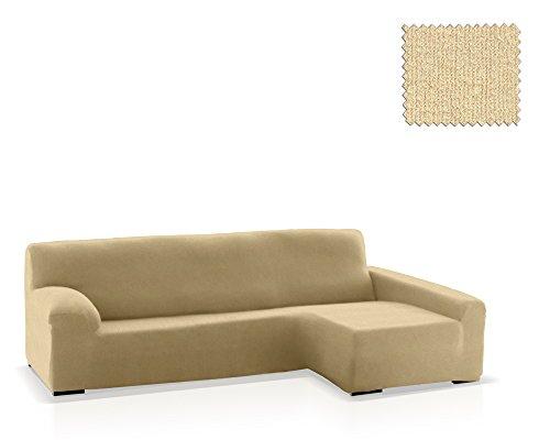 JM Textil Bielastische Husse für Sofas mit Ottomane Eneasis, Ottomane rechts, Größe Standard (220-280 cm), Farbe 00