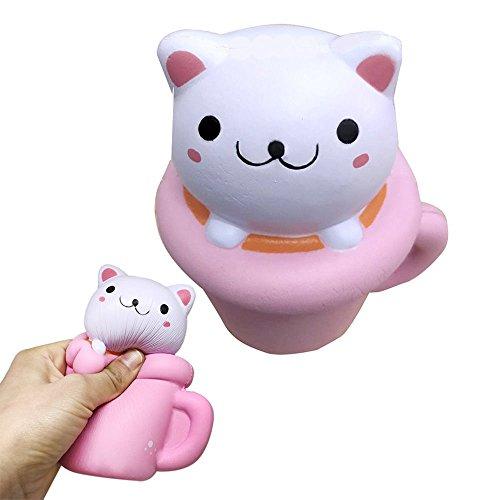 youpin-high-quality-stress-ansia-giocattolo-elastico-lento-aumento-soft-squishy-kawaii-lucky-cat-per