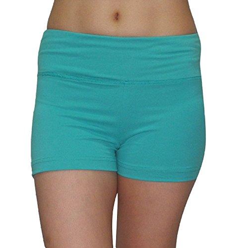 Marika femmes Athletic Fitness Training & Shorts de yoga green