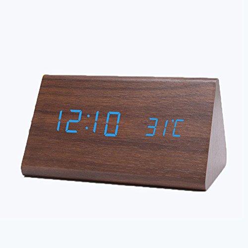 Sveglia Termometro Digitale Intelligente Sensore Calendario Sveglia