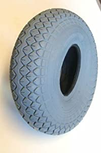 330x100 400x5 Grey Block Mobility Scooter Tyre 4.00-5