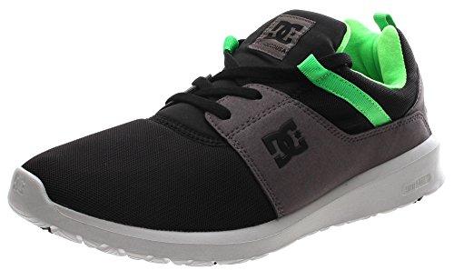 DCHeathrow M Shoe - Scarpe da Ginnastica Basse uomo , nero (Black/Grey/Green), 44