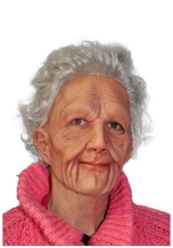 Alte Maske Latex Frau (Zagone Studios Kostüm)