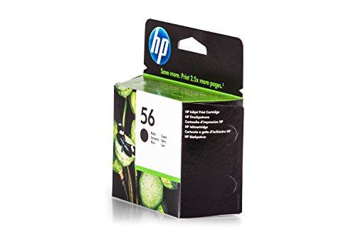 9600 Drucker-tinte Hp (Original Tinte passend für HP PSC 1310 HP 56 , 56BK , 56BLACK , NO56 , NO56BK , NO56BLACK , Nr 56 C6656AE , C6656AEABB , C6656AEABD , C6656AEABF - Premium Drucker-Patrone - Schwarz - 520 Seiten - 19 ml)