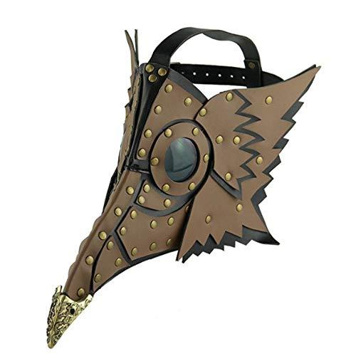 HWQ Halloween Steampunk Pest Schnabel Maske Kostüm Cosplay Bar Party Requisiten Geschenke