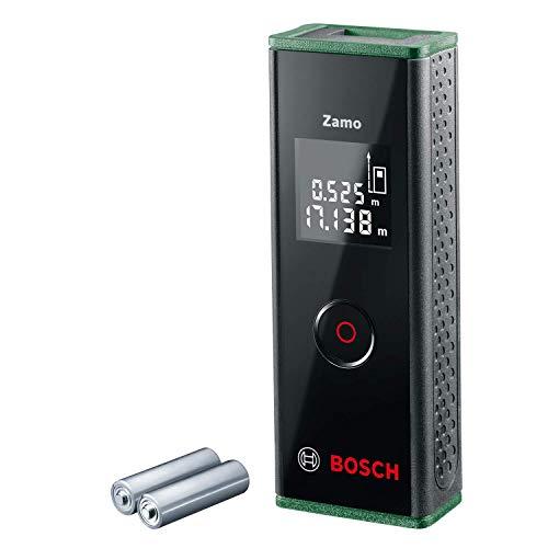 Télémètre Laser Bosch - Zamo (3e Génération, Portée: jusqu'à 20m, livré avec 2 piles 1,5 V...