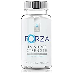 FORZA T5 Super Strength - Strong Diet & Fitness Supplement For Safe Weight Loss - Bestselling T5 Formula - 90 Capsules