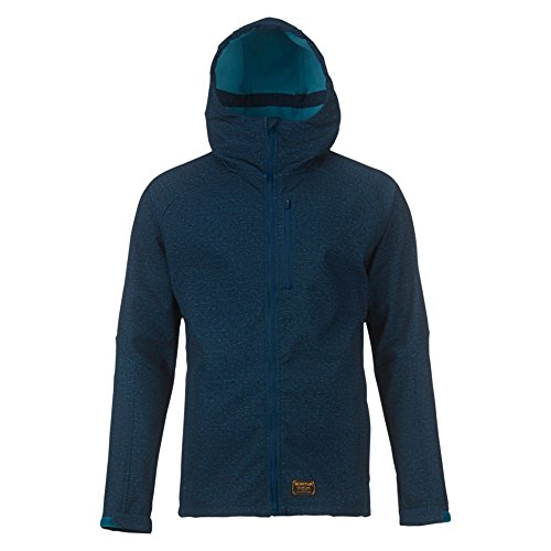 Burton Herren Jacke Process Softshell, Blue Mirage Heather, S | 09009520375903