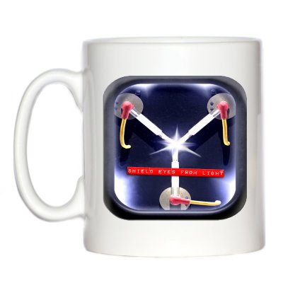 Flux Capacitor Style Mug by 1StopShops