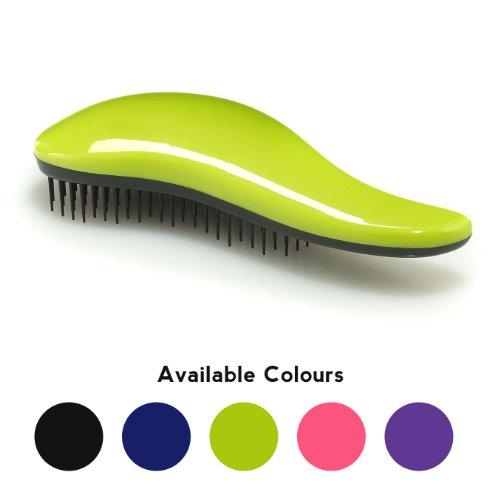 Simply Beautiful Bürste - Professionelle Haarbürste zum Entwirren der Haare - Rosa, Schwarz, Lila, Blau oder (Schwarze Haare Lila)