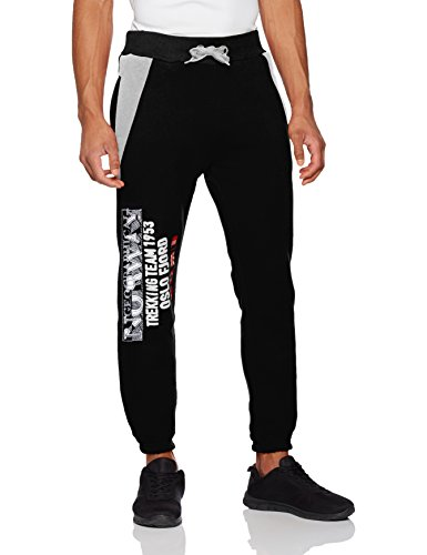 Geographical Norway Herren Sport Jogger Mopervik Men Schwarz (Black)