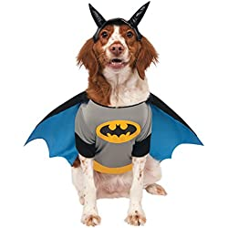 Batman - Disfraz para mascota, XL (Rubie's Spain 887835-XL)