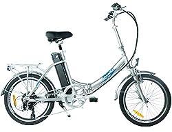swemo 20 Zoll Alu Klapp E-Bike/Pedelec SW200 Neu (Silber)