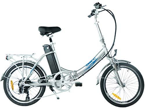 swemo 20 Zoll Alu Klapp E-Bike/Pedelec SW200 Neu (Silber) -