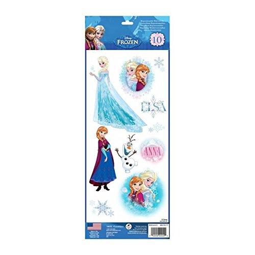 Thedecofactory RMK3128MS Disney LA Reine des NEIGES ROOMMATES REPOSITIONNABLES (10 Stickers), Vinyle, Multicolore, 36 x 14 x 0,1 cm