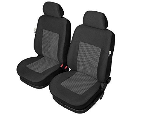 Premium Kunstleder Sitzbezüge Sitzbezug Schonbezüge für Citroen C4 Schwarz Set