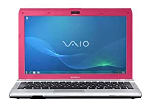 Sony Vaio YB2M1E 29,5 cm (11,6 Zoll) Notebook (AMD E-350, 1,6GHz, 4GB RAM, 320GB HDD, AMD Radeon HD 6311, Win 7 HP) pink
