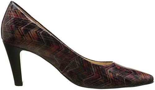 Gabor Fashion, Escarpins Femme Multicolore (Black/Chianti 95)