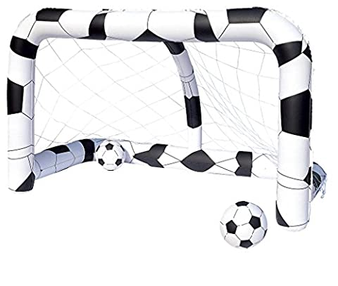 Bestway Inflatable Football Goal Includes Balls - 84 x 48 x 54 Inches