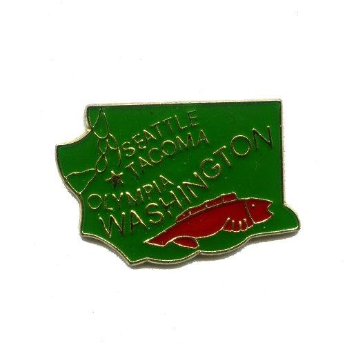 Washington Olympia WA USA State Bundesstaaten Badge Pin Pins Anstecker 1000